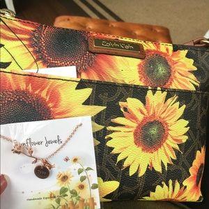 Handbags - Calvin Klein Sunflower Purse